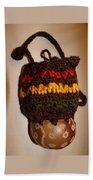 Jamaican Coconut And Crochet Shoulder Bag Beach Sheet