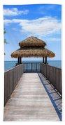 Jamaican Paradise Beach Towel