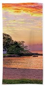 Jamaican Sunset Beach Towel