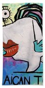 Jamaican Tooth Beach Towel