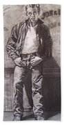 James Dean Beach Towel