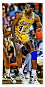 James Worthy Beach Towel
