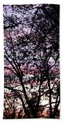 Jammer Cotton Candy Trees Beach Towel