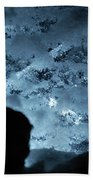 Jammer Deep Blue 001 Beach Towel