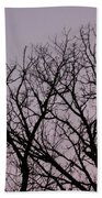 Jammer Fuzzy Trees 002 Beach Towel