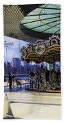 Jane's Carousel 2 In Dumbo - Brooklyn Beach Towel