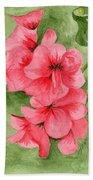 Jane's Flowers Beach Towel