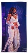Janet Jackson-03 Beach Towel