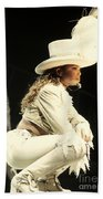Janet Jackson Beach Towel