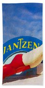 Jantzen Diver Beach Towel