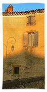 The Lady Of Limoux Beach Towel