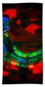Jazz At Midnight Beach Towel