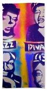Jazz Divas  Beach Towel