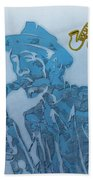 Jazz Saxophone Beach Towel