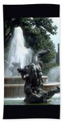 J.c.nichols Fountain 1 Kc.mo Beach Towel