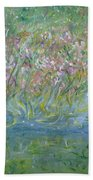 je t'aime Monet Beach Towel