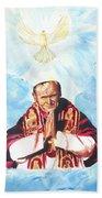 Jean Paul II Beach Towel