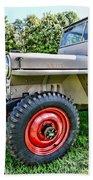 Jeep Willys Ww2 Beach Towel