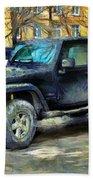 Jeep Wrangler Beach Towel