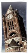Jefferson County Courthouse Clock Tower Beach Sheet