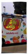 Jelly Belly On Wheels Beach Towel