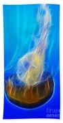 Jellyfish Fractal Beach Towel