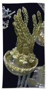 Jellyfish Of Aquarium Of The Bay San Francisco Beach Towel