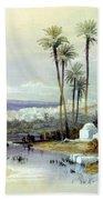 Jenin Ancient Jezreel 1839 Beach Towel