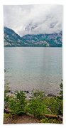 Jenny Lake In Grand Tetons National Park-wyoming  Beach Sheet