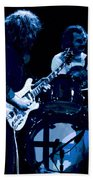 Jerry And Billy At Winterland 2 Beach Towel