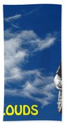 In The Clouds Beach Towel