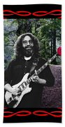 Jerry Road Rose 2 Beach Towel