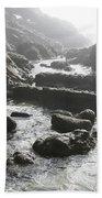 Jesus Christ- Walking With Angels Beach Towel