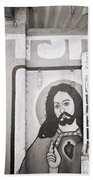 Jesus In Mumbai Beach Towel