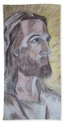 Jesus Beach Towel