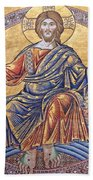 Jesus Mosaics Beach Towel