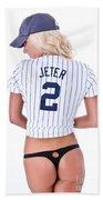 Jeter Fan Beach Sheet