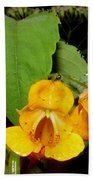Jewel Weed Beach Towel