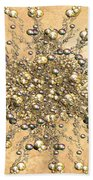 Jewels In The Sand Beach Towel