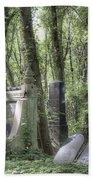 Jewish Cemetery Weissensee Berlin Beach Towel