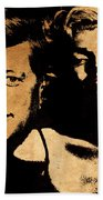 Jfk And Marilyn Beach Towel