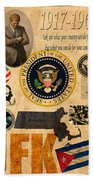 JFK Beach Towel