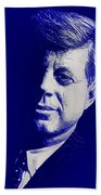 Jfk - Blue Beach Towel