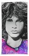 Jim Morrison Beach Towel