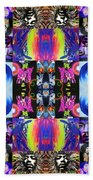 Jimi Kaleidoscope I Beach Towel