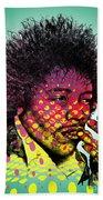 Jimmie Hendrix  Beach Towel