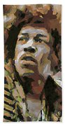 Jimmy Hendrix Beach Towel