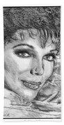 Joan Collins In 1985 Beach Towel