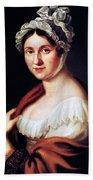 Johanna Wagner (1774-1848) Beach Towel
