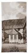 John Bunyans Meeting House, Early 19th Beach Towel